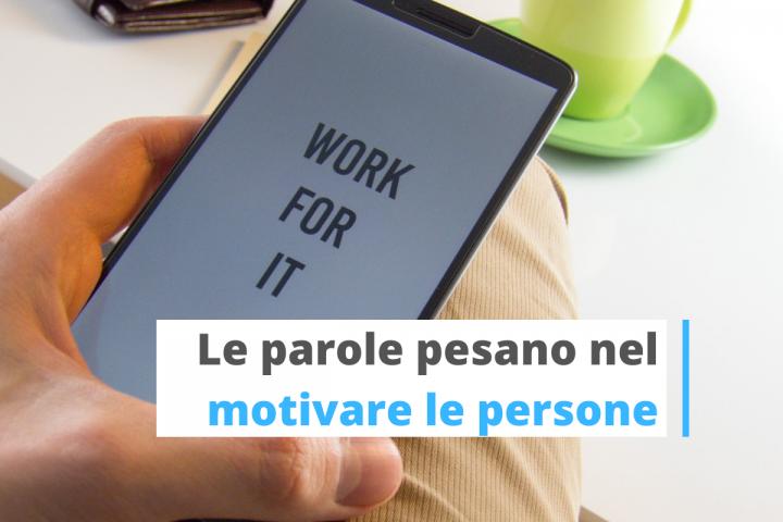 motivare il personale