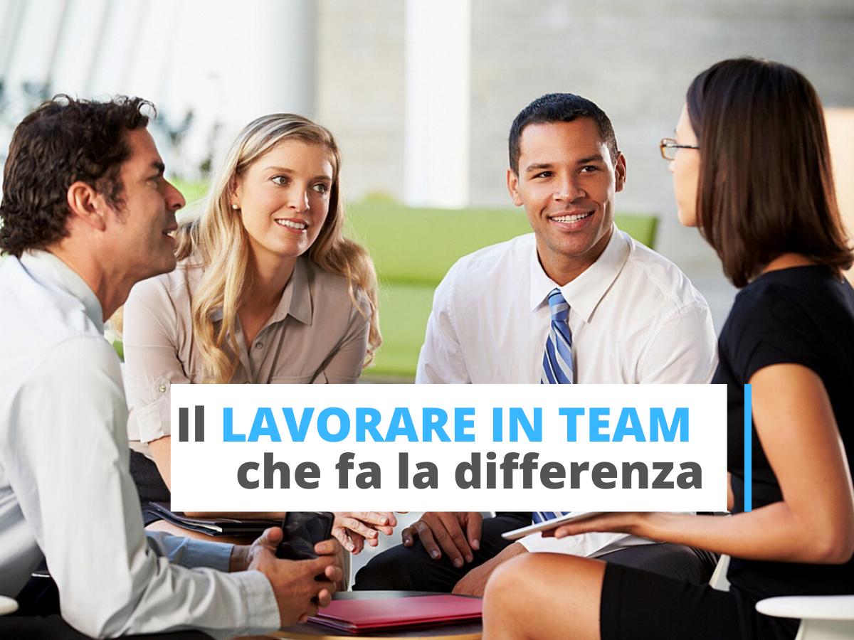 lavorare in team